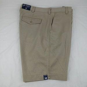 Cremieux Cassis Flat Front Khaki Shorts